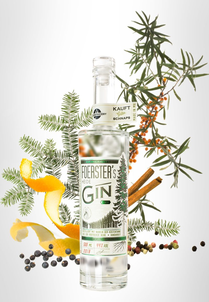 Foresters Gin Maennerhobby Rostock